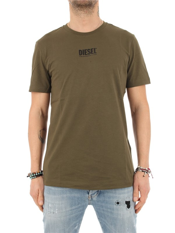 DIESEL T-shirt Military green