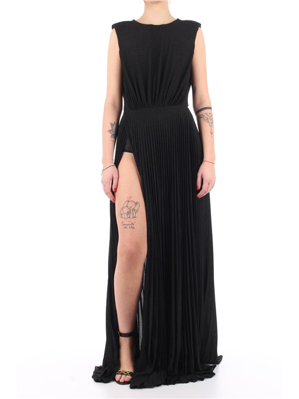 Elisabetta Franchi Long dress Black