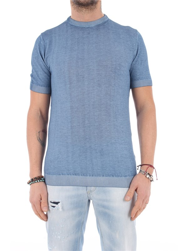 DANIELE ALESSANDRINI Sweater Light blue