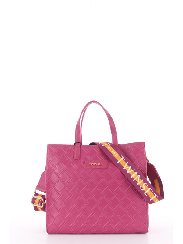 TWINSET Shopping Bag Red plum