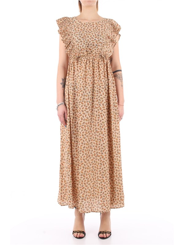 Molly Brachen Long dress Delhi cream