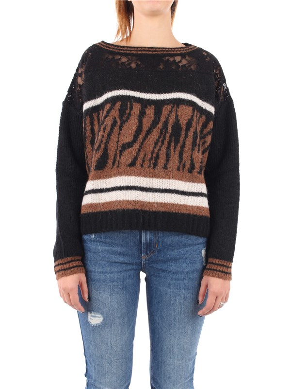 LIU  JO Sweater Animal lace