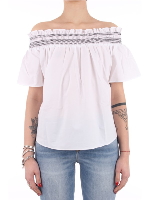Pinko Blouse White black