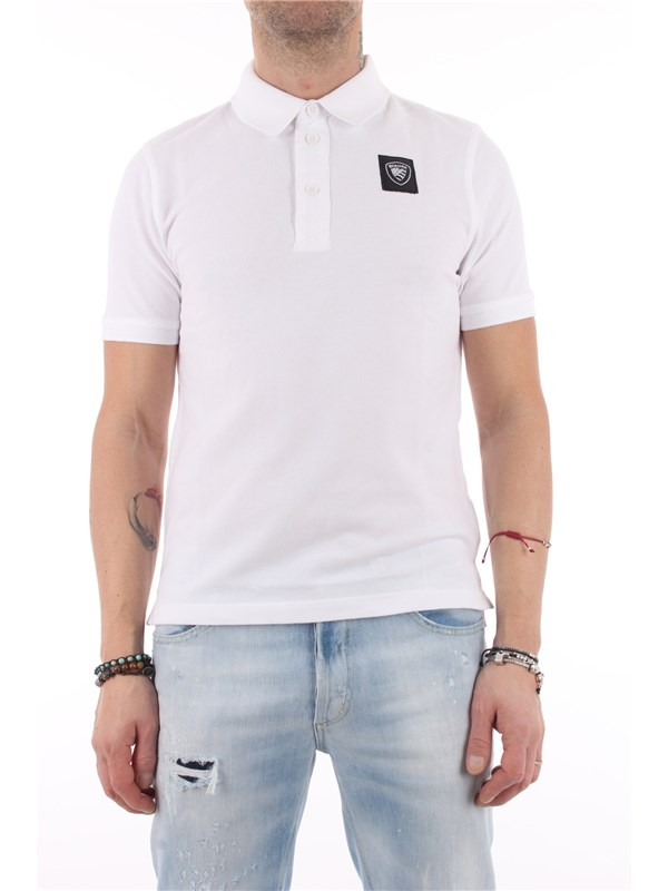 Blauer Polo Optical white
