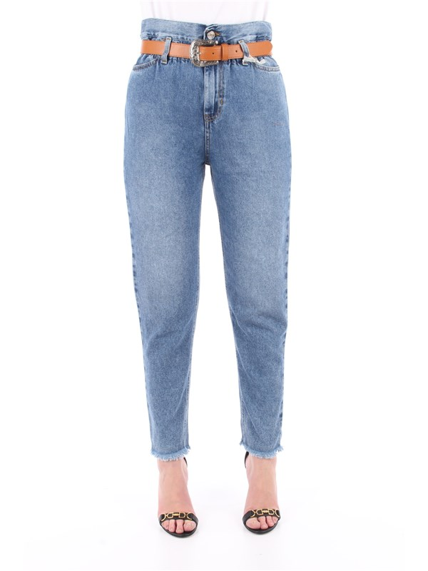 LIU  JO Jeans Denim blue his wash