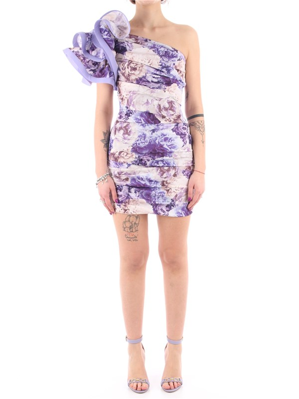 Elisabetta Franchi Short dress Lavender