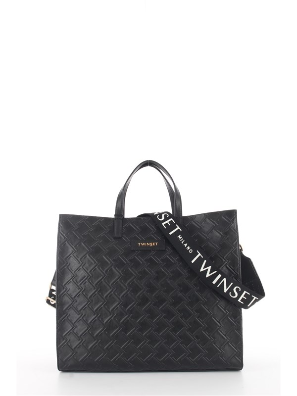 TWINSET Shopping Bag Black