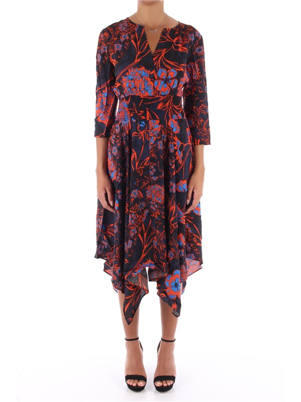 Desigual Long dress Sunset