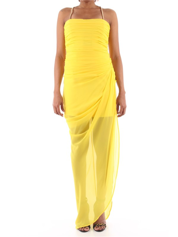 Anna Molinari Long dress Yellow