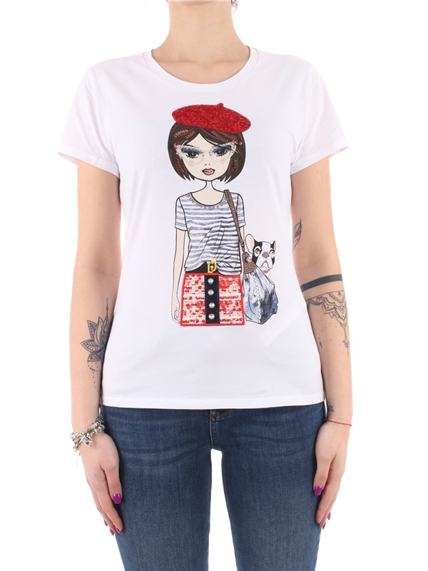 LIU  JO T-shirt Optical white