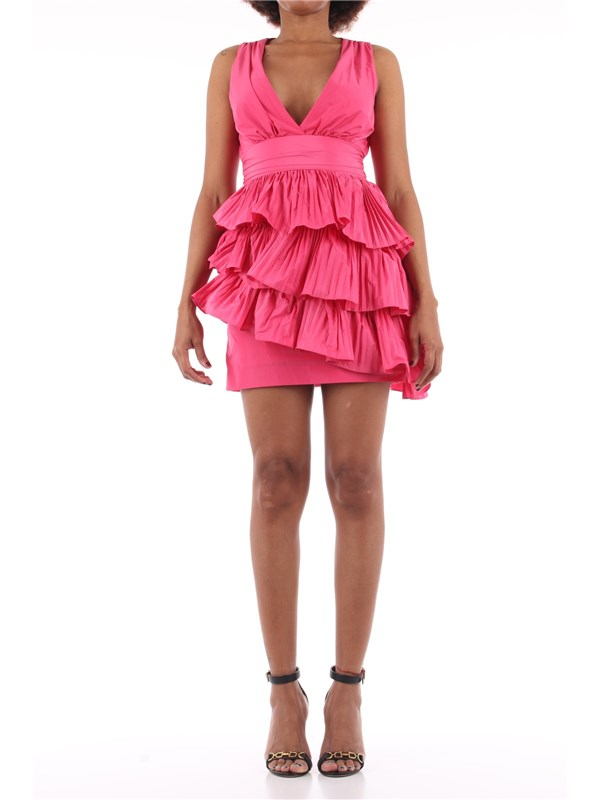 NENETTE Short dress Shocking pink