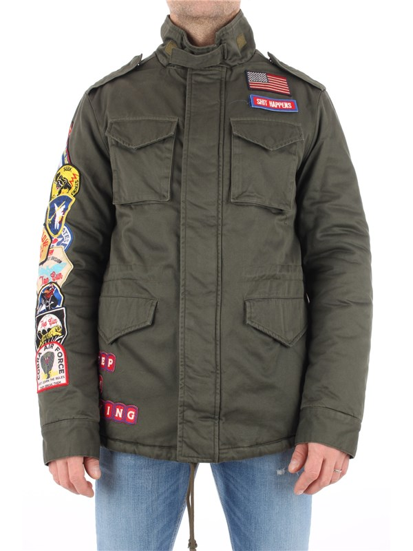 Top Gun Coat Olive