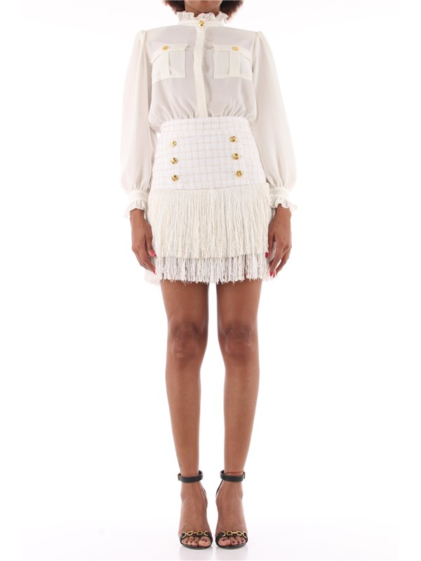 Elisabetta Franchi Short dress Ivory