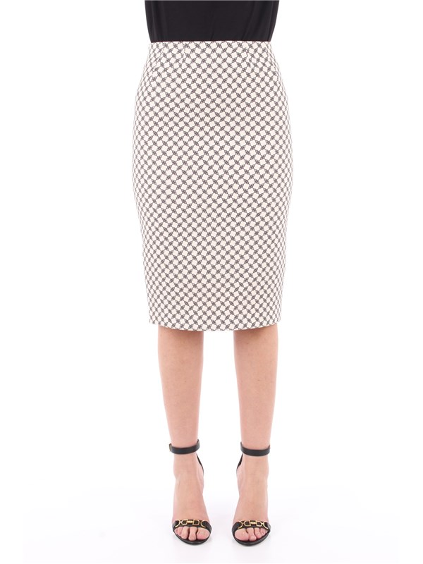 Elisabetta Franchi Skirt Butter / Black