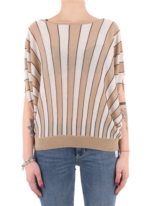 LIU  JO Sweater Black gold lux
