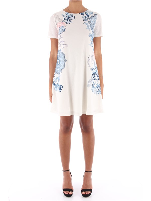 Desigual Short dress Blanco