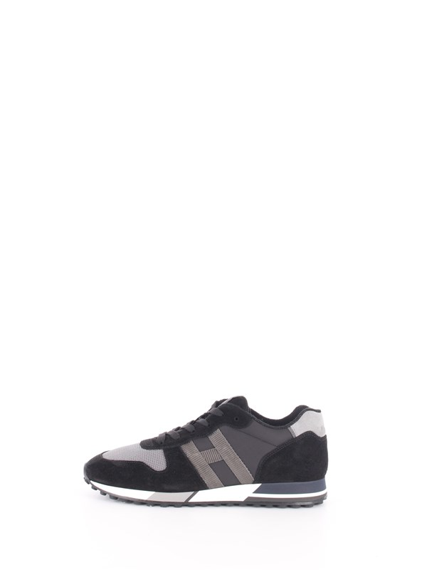 HOGAN Sneakers Black / smoke / tar