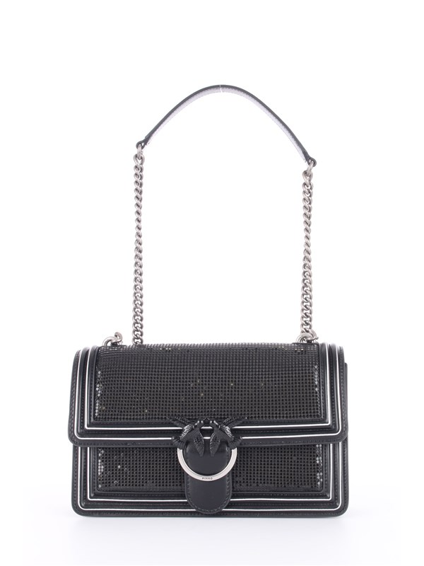 Pinko Shoulder bag Black / black