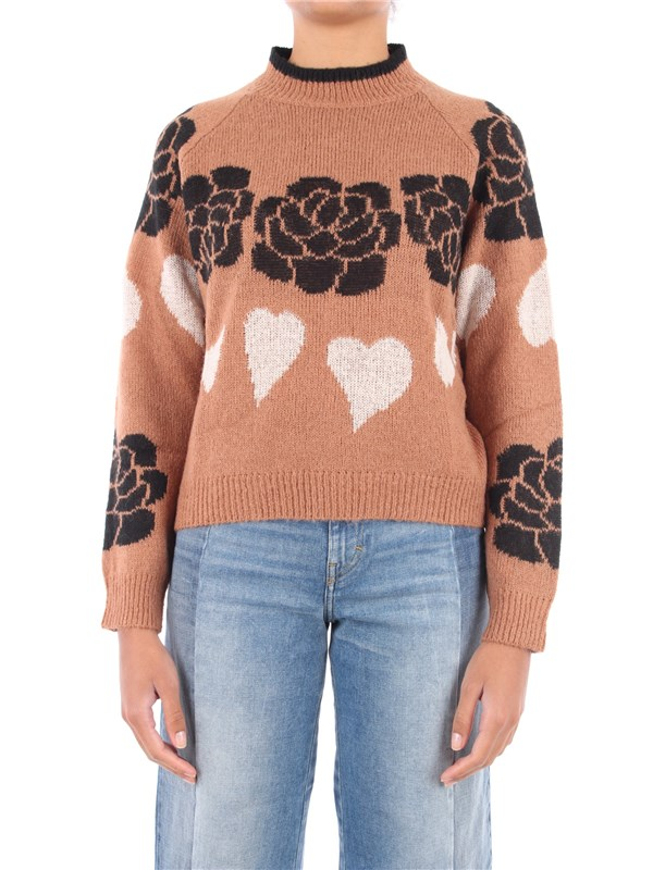 Le Coeur Sweater Brown sugar