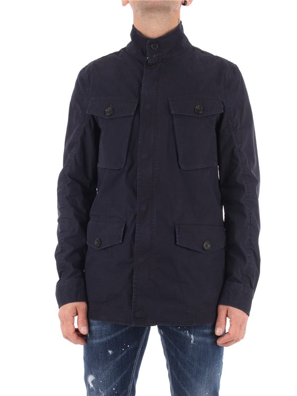 Baracuta Coat Midnight blue