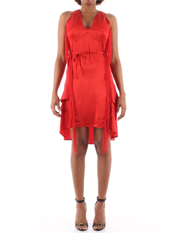 TWINSET Short dress Coral
