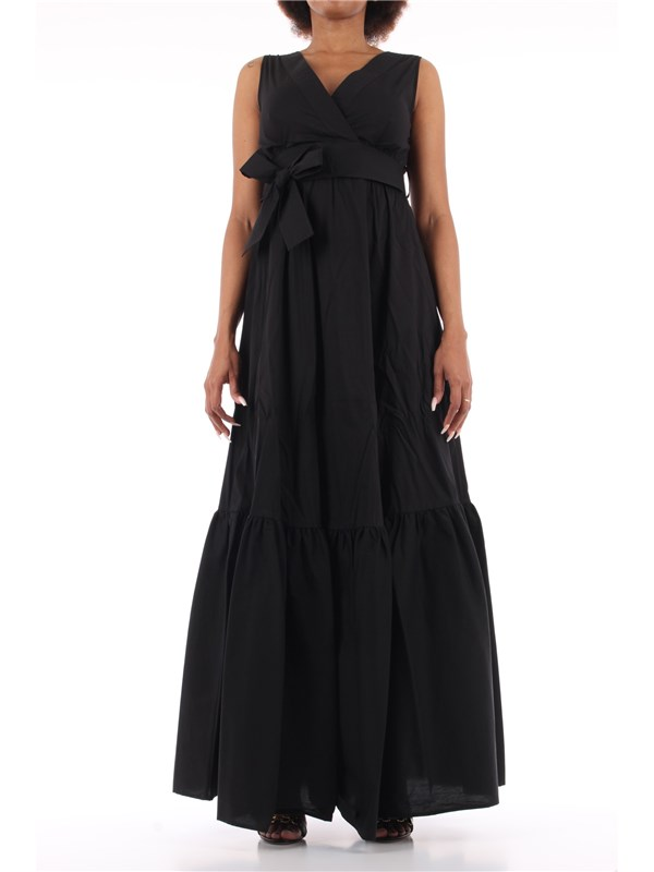 LIU  JO Long dress Black
