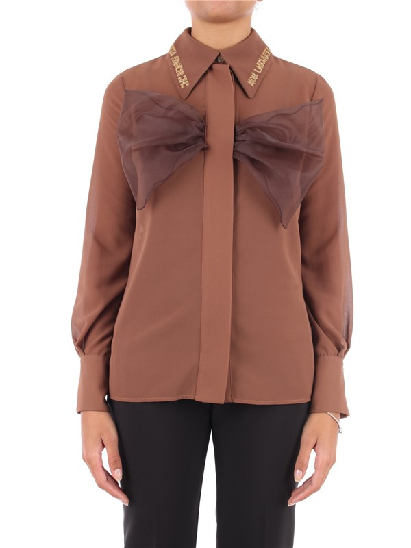 Elisabetta Franchi Shirt Chocolate