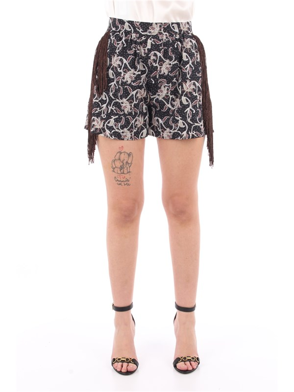 Pinko Shorts Gray / beige