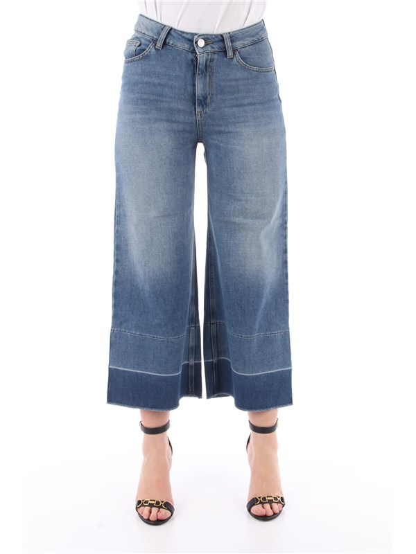 LIU  JO Jeans Tasteful blue denim w.