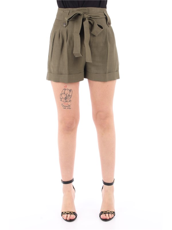 TWINSET Shorts Alpine green