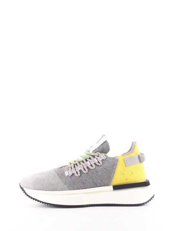 Barracuda Shoes Sneakers Gray / lime