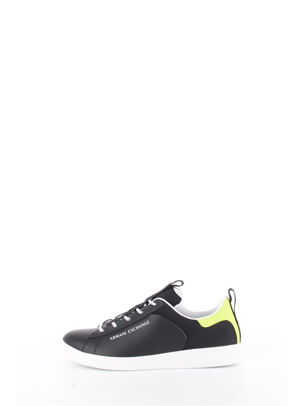 Armani Exchange Sneakers Black / lime