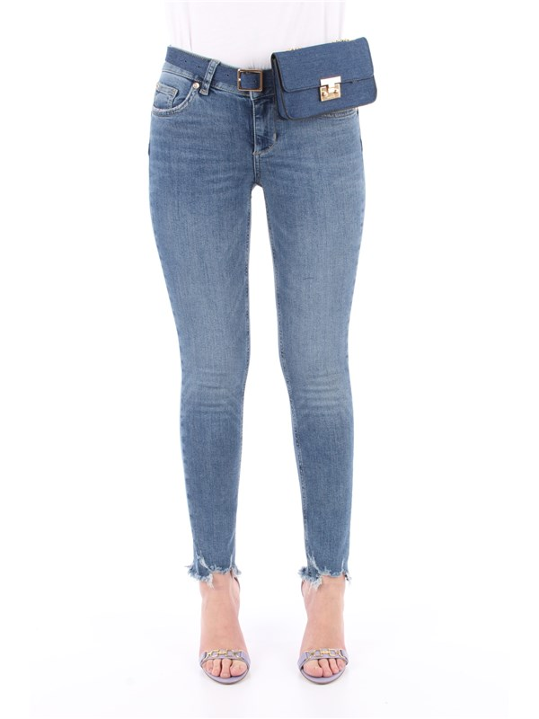LIU  JO Jeans Denim blue dazed wash