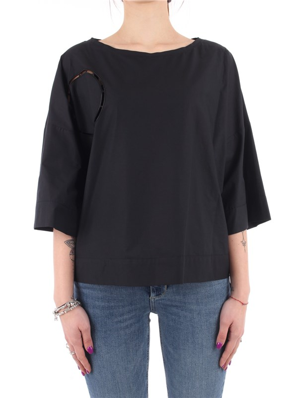 Manila Grace Blouse Black