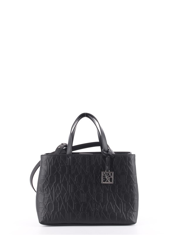 Armani Exchange Shopping Bag Black