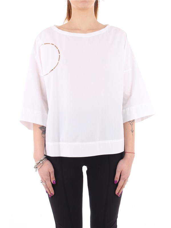 Manila Grace Blouse Optical white