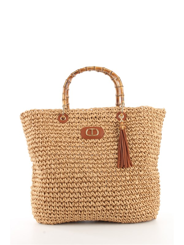 TWINSET Shopping Bag Straw