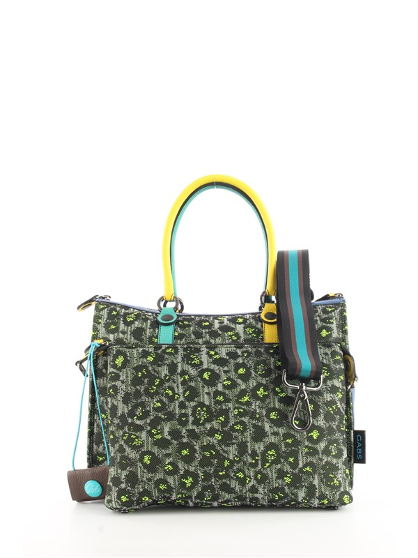 GABS Shopping Bag Lemon / malachite / cobalt