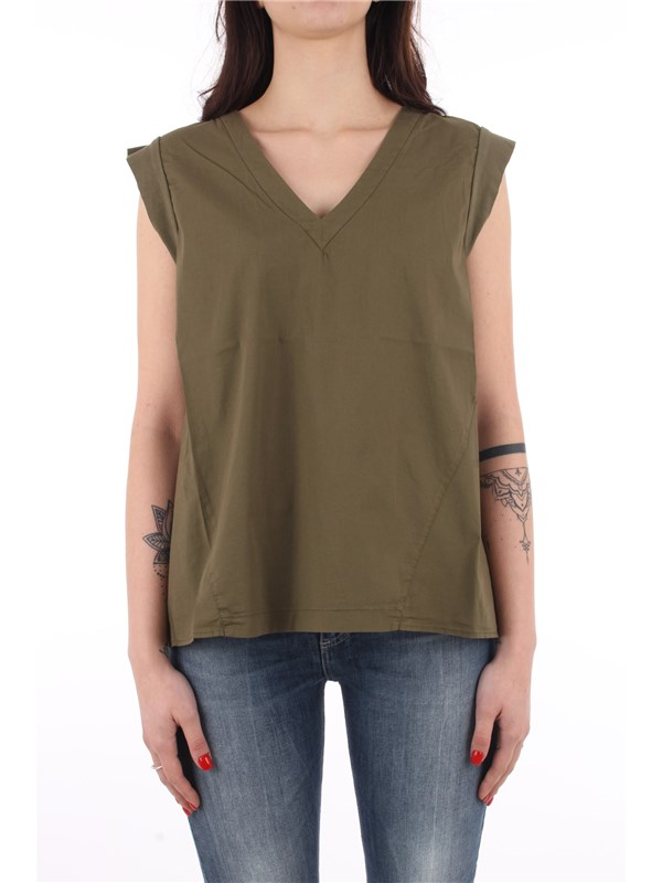 EuropeanCulture Top Military green