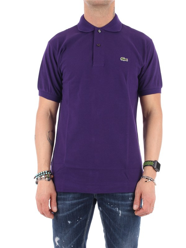 LACOSTE Polo Violet