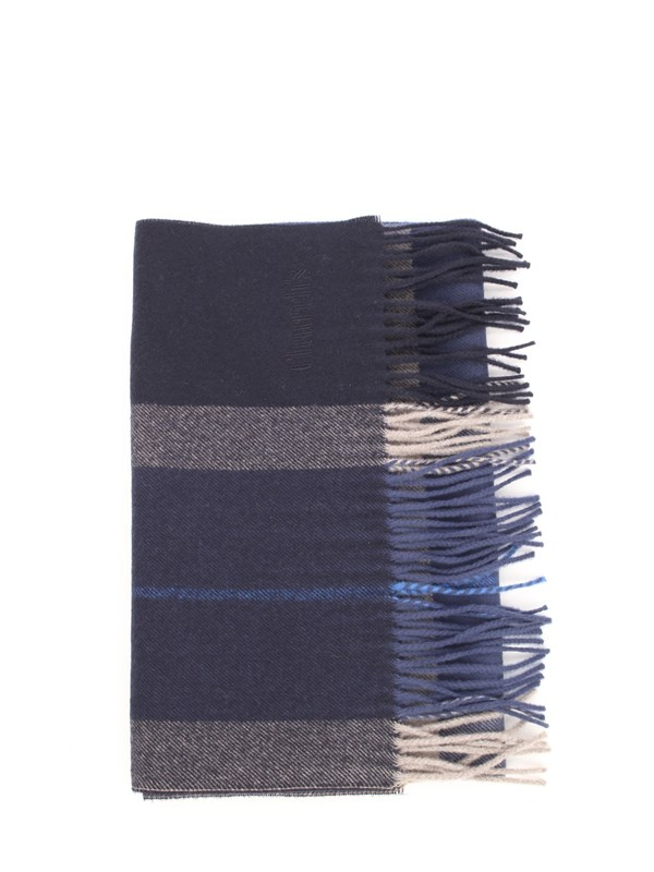 CHURCH'S Scarf Blue / gray