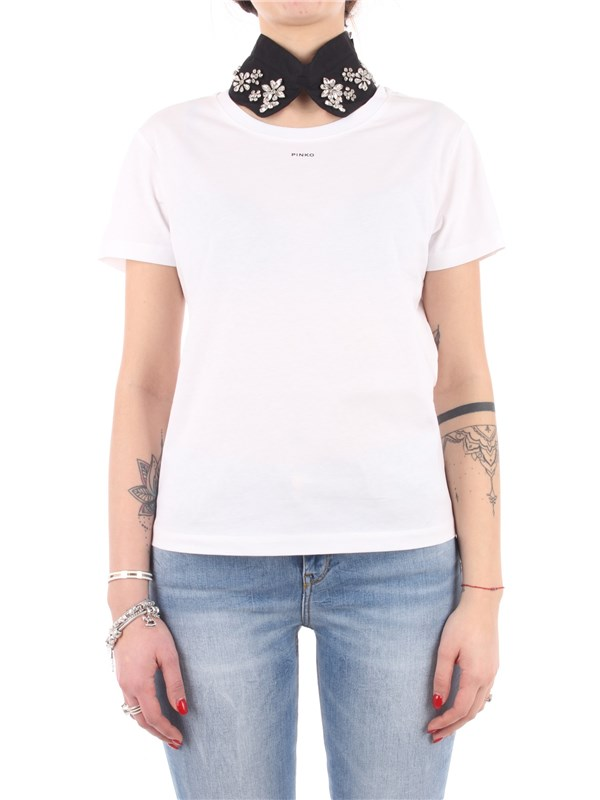 Pinko T-shirt Black / crystal