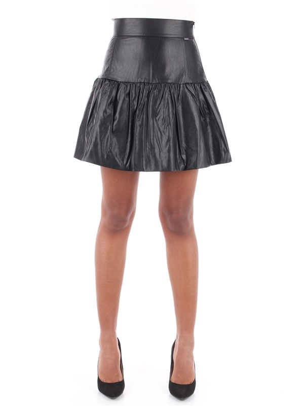 Le Coeur Skirt Black