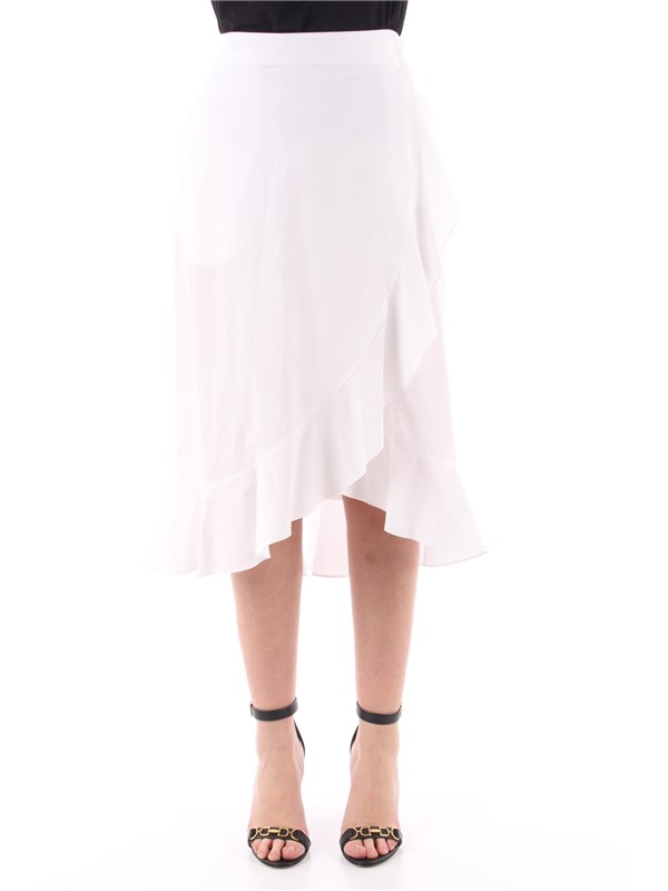 Pinko Skirt white