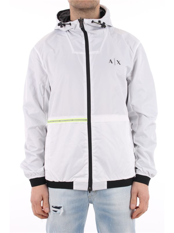 Armani Exchange Coat white