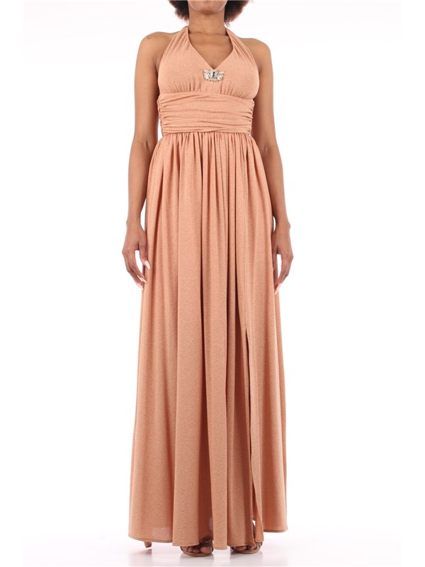 Kocca Long dress Pink gold