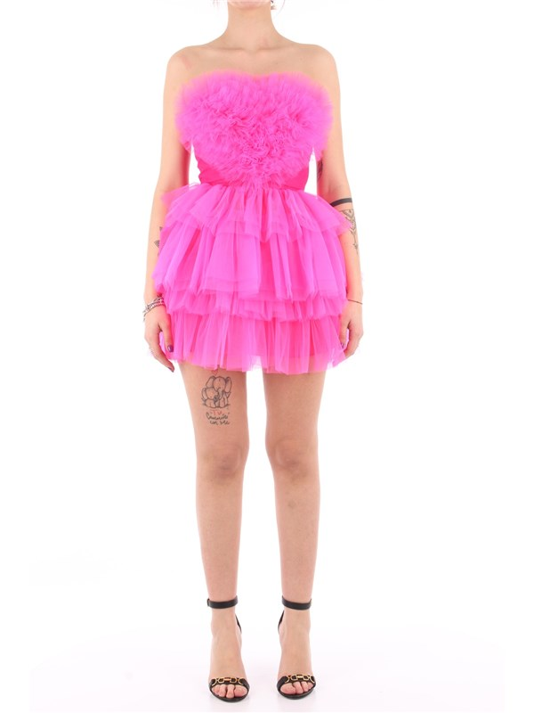 ANIYE'  BY Short dress Fluorescent pink