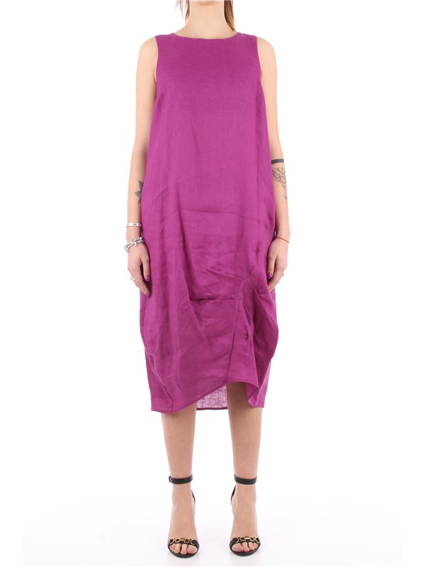Manila Grace Midi dress Grapes