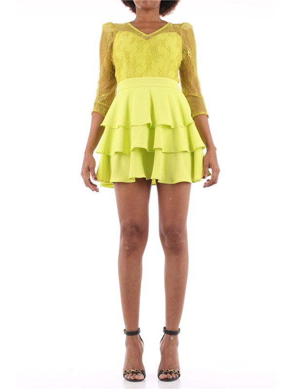 Kocca Short dress Acid green