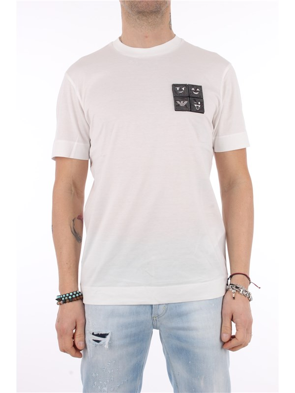 Emporio Armani T-shirt Warm white